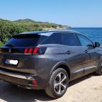 Mein 3008 in Sardinien